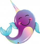 Balão Narval Unicórnio dos Mares