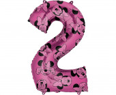 Balão Número 2 Minnie Disney