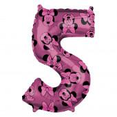 Balão Número 5 Minnie Disney