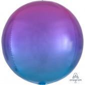 Balão Orbz Azul e Roxo 38cm
