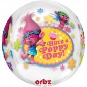 Balão Orbz Poppy Trolls