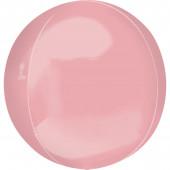 Balão Orbz Rosa Pastel 40cm