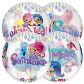 Balão Orbz Shimmer and Shine 40cm