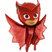 Balão Owlette Corujinha PJ Masks 94cm
