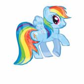 Balão Rainbow Dash My Little Pony