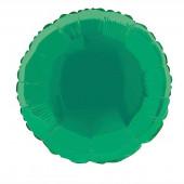 Balão Redondo Foil Verde 46cm