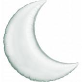 Balão Super Shape Lua Prateado