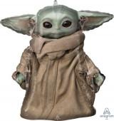 Balão Supershape Baby Yoda Star Wars The Mandalorian 66cm