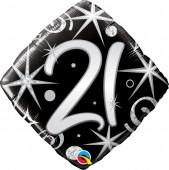 Balão Supershape Diamante 21 anos