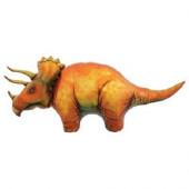 Balão Supershape Dinossauro Triceratops 107cm