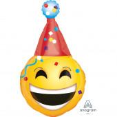 Balão Supershape Emoji Party Hat 99cm