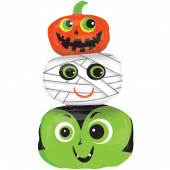 Balão Supershape Halloween Heads 91cm