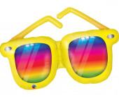 Balão Supershape Óculos Arco Íris 107cm