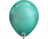 Balão Verde Chrome 7''