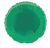 Balão Verde Metalizado 45cm (18