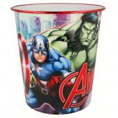 Balde Papelaria Avengers
