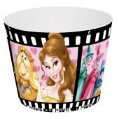 Balde Pipocas Princesas Disney