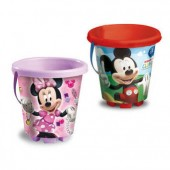 Balde Praia 18cm de Mickey Mouse e Minnie Mouse