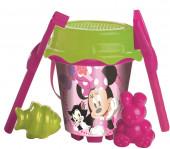 Balde Praia com Acessórios Minnie Disney