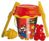 Balde Praia com Acessórios Super Mario