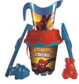 Balde Praia com Regador Spiderman