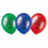 Balões Festa PjMasks 8 unid