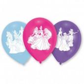 Balões festa Princesas Disney sortido 6 unid