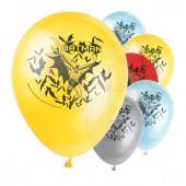 Balões Latex Batman 8 unid