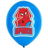Balões Spiderman 4 Cores - 6 Und