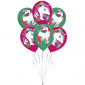 Balões Unicórnio Látex 6und