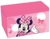 Banco /caixa de arrumação rectangular dobrável Minnie