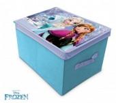 Banco e caixa de arrumação rectangular da Frozen