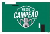 Bandeira Sporting Campeão 2021/2021 - 90x150cm