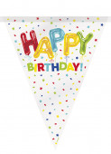 Bandeirola Happy Balloon Birthday