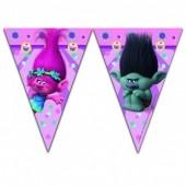 Bandeirolas festa Trolls