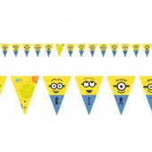 Bandeirolas Minions 3 - 3.3m