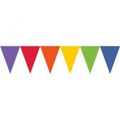 Bandeirolas Papel Multicolor 4.5m