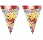 Bandeirolas Winnie the Pooh