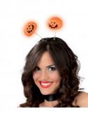 Bandolete Abóboras com Luz Halloween