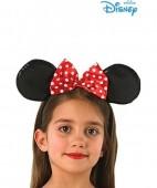 Bandolete orelhas Minnie Menina vermelha
