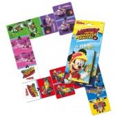 Baralho de cartas dominó Mickey Roadster Races
