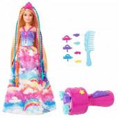 Barbie Boneca Princesa Tranças
