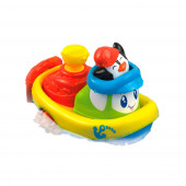 Barco com Pinguim