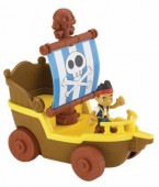 Barco navega e corre Jake Fisher Price