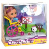 Barriguitas em cadeira de rodas