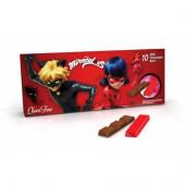 Barrinhas Chocolate Leite Ladybug - 100gr