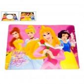 Base Individual Refeição com Princesas Disney