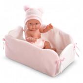 Bebé em Berço c/ Trocador 26 cm