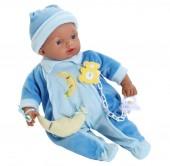 Bebé Mulato Azul 33 cm c/ Sons