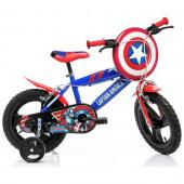 Bicicleta Capitão América 14 polegadas